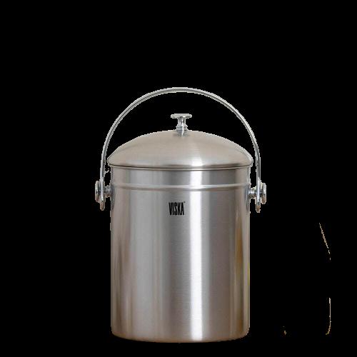 5L 대용량 스텐 음식물쓰레기통 씽크대 음식물처리