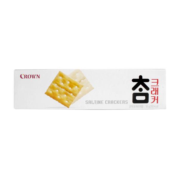 참크래커 56g X 9 짭짤 카나페 크래커 디저트 간식 과자