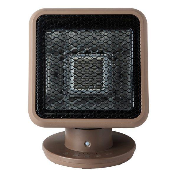 비컴리치 가정용 휴대용 스타 다이아몬드 탄소 크리스탈 섬유 히터, 갈색