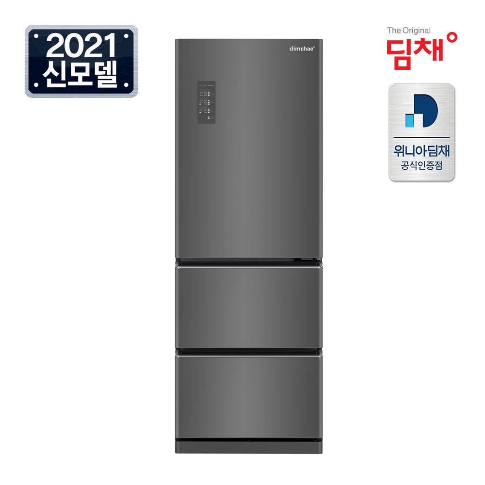 위니아 21년형 1등급 딤채 스탠드형 김치냉장고 EDT33EFRZD 330리터