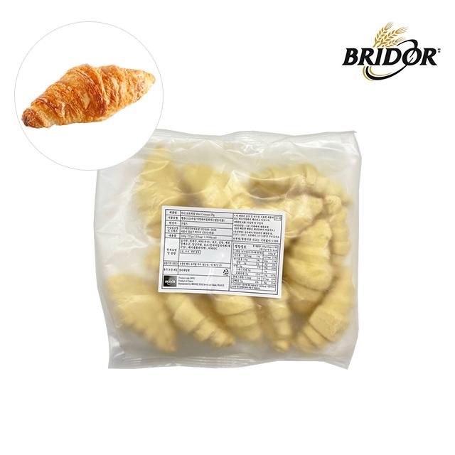 브리도 프랑스 냉동 생지 미니 크로아상 모닝 빵 에어프라이어 카페베이커리 티푸드 12개입, 25g