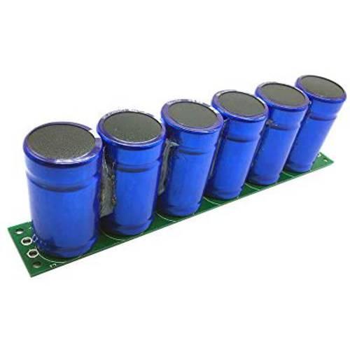 KOOBOOK KOOBOOK 1Set(6pcs) 2.7V 500F Farad Capacitor Super Capacitor W
