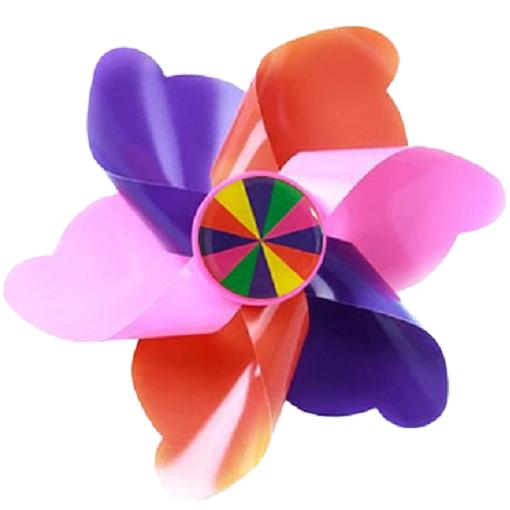셀마켓 유아 킥보드 악세사리, 7. 핑크핑크바람개비(기둥형)