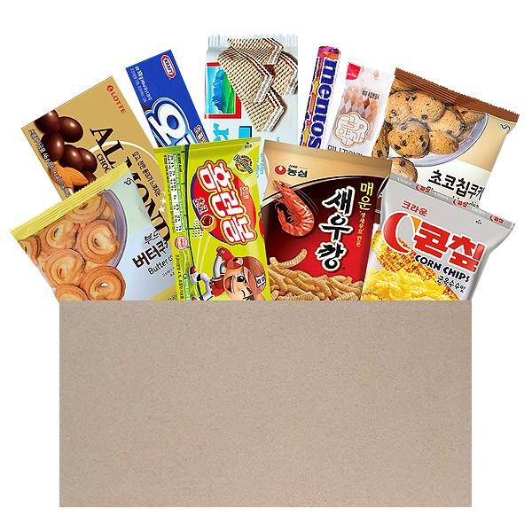 인기과자세트 모음전 선물용 과자세트 11종 12종 13종 17종 과자선물세트, 과자세트5 (10종)