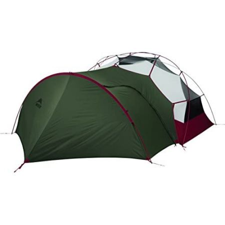MSR Gearshed V2 fits Elixir Hubba Nx Tent Footprint, Green