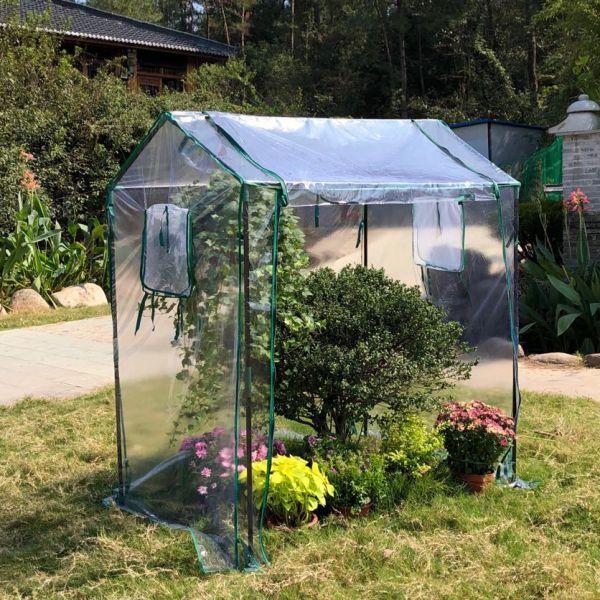 가정용 옥상 소형 조립식 다육이 비닐하우스 온실하우스