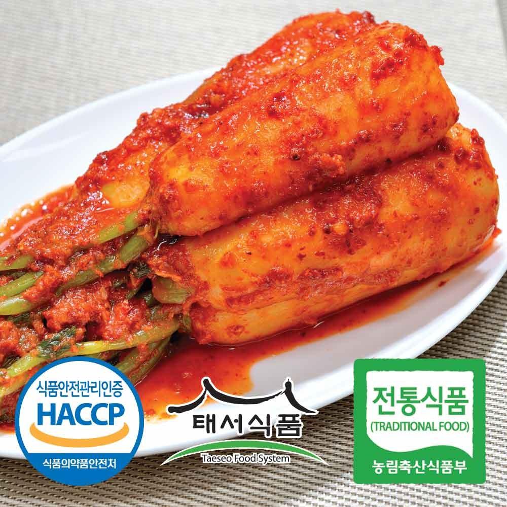 태서식품 총각김치, 3kg, 1개