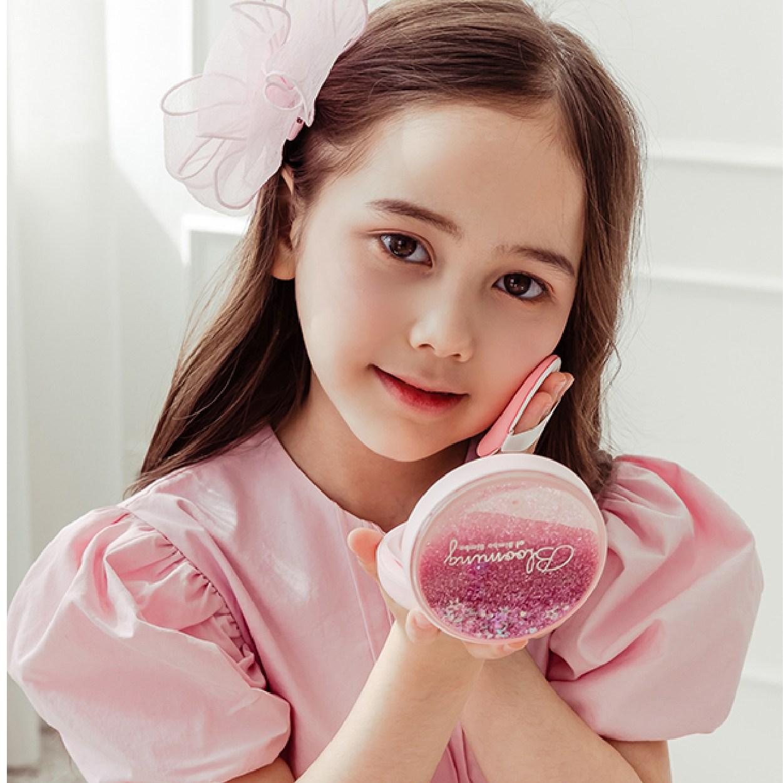 블루밍 마인드 유아선쿠션 선크림 아기선크림 유아썬쿠션 어린이선팩트 썬팩트 썬크림 빔보빔바, 핑크_어린이 선크림 쿠션