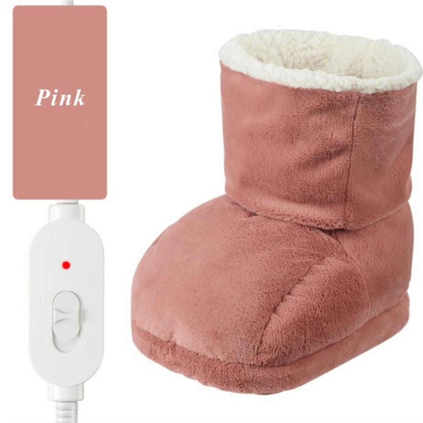A9 발온열기 풋워머 발찜질기 전기 사무실 발난로, Pink