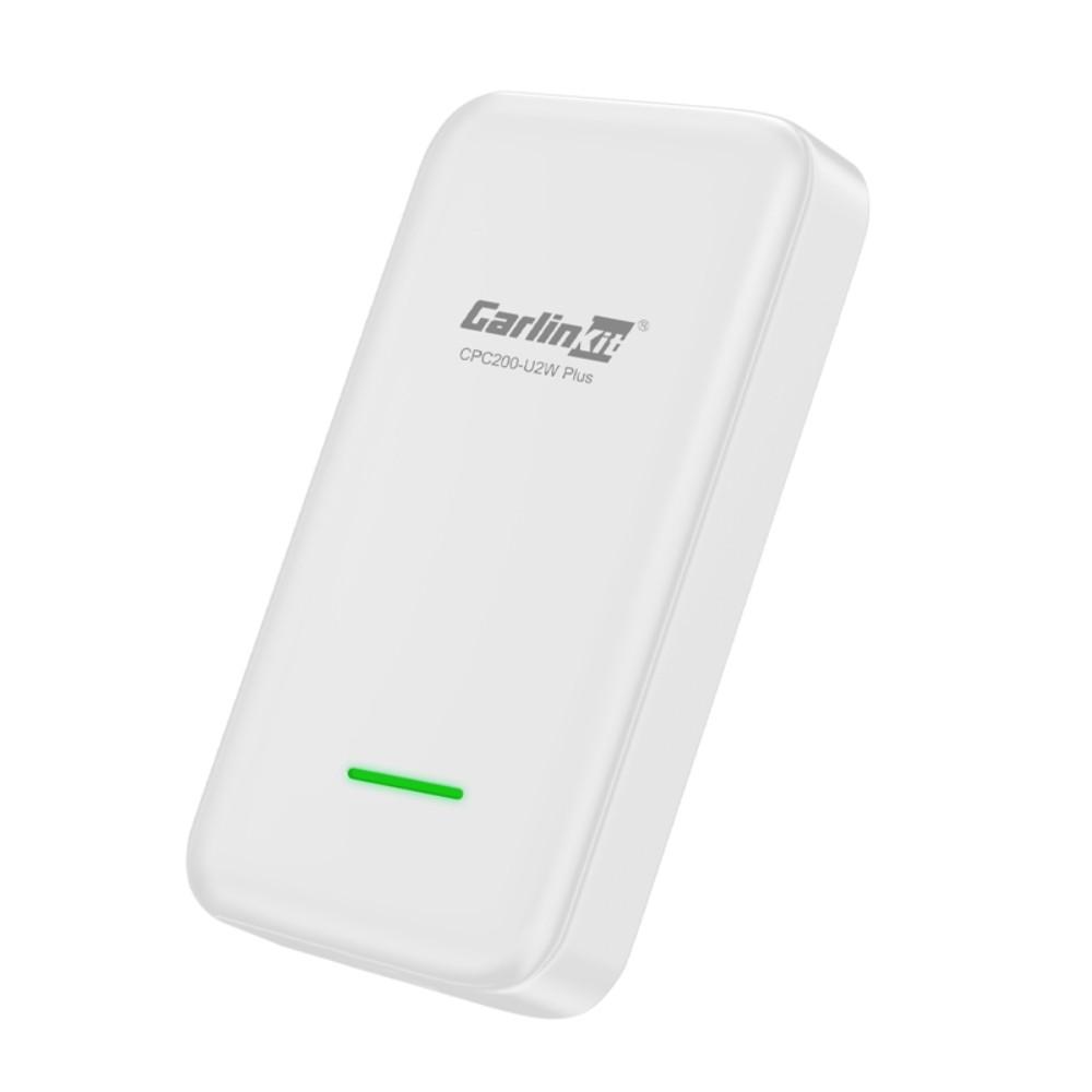 2020 업그레이드 카링킷 USB 무선 CarPlay 안드로이드 오토 카플레이 재생 블루투스 연결 가능 안드로이드 올인원, White + 공식 표준