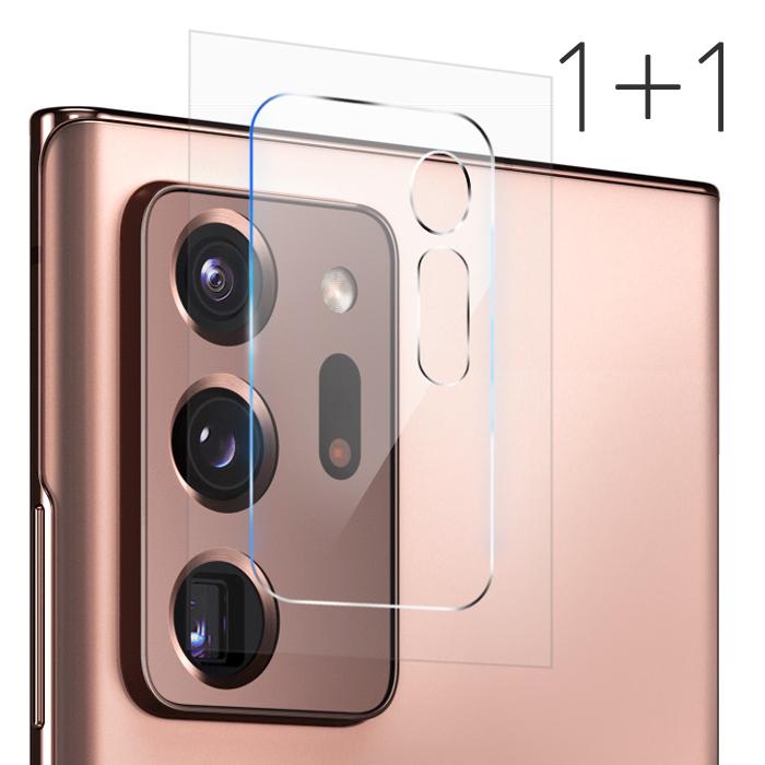 더조은셀러 1+1 갤럭시 노트20 노트20울트라 5G 카메라 렌즈 필름 강화유리필름 후면 커버 N986 N981, 2개