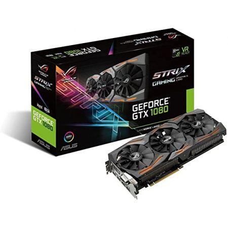 ASUS GeForce GTX 1080 8GB ROG Strix Graphics Card (STRIX-GTX1080-A8G-GAMING) 9999993134414, 상세 설명 참조0