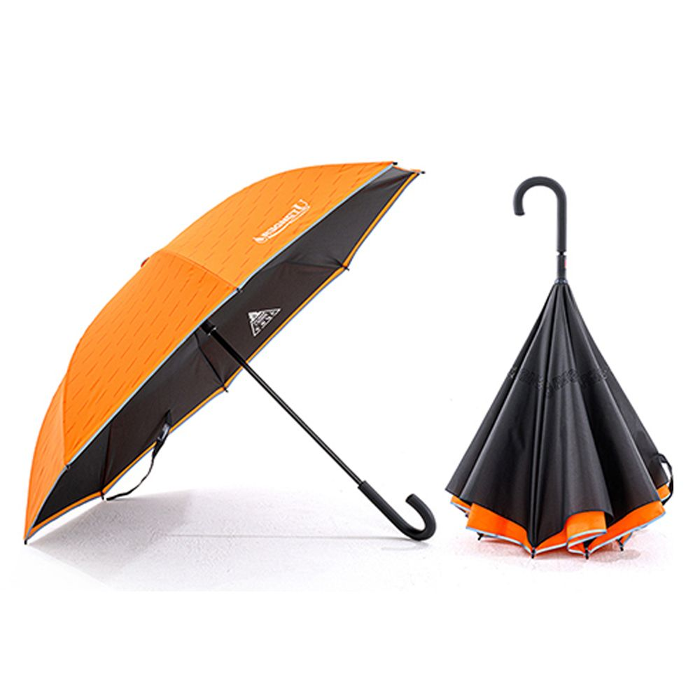 ATK 거꾸로우산 자동 우산 양산 장마철 반전우산 자동펴기 / 색상 배송상품 : 카나리아옐로우 (레그넷/기능성우산/세워지는/선물용/자동우산 추천)