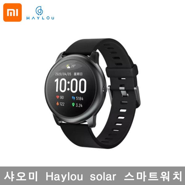 샤오미 Haylou 스마트워치 Solar, 블랙