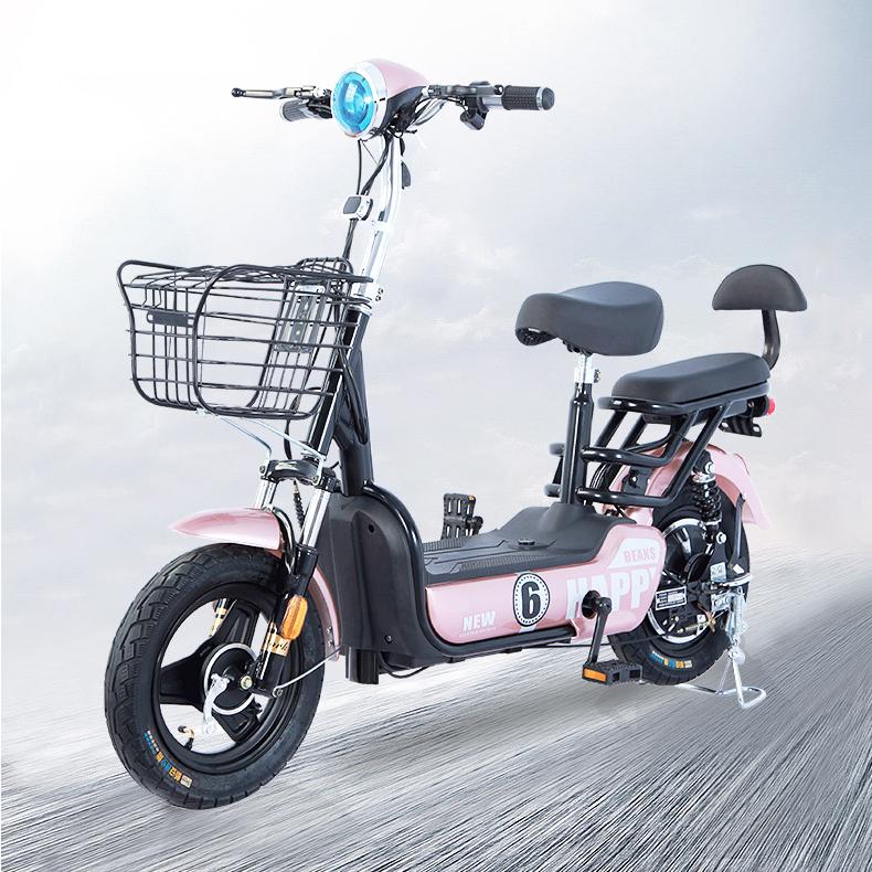 JJ전동스쿠터3 전기자전거 전동오토바이, 화이트
