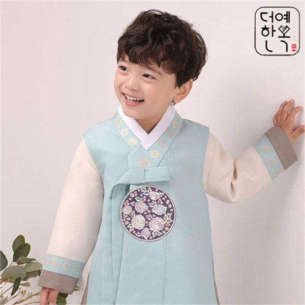 더예한복 QT210 맑음찬성 남아한복 아동한복