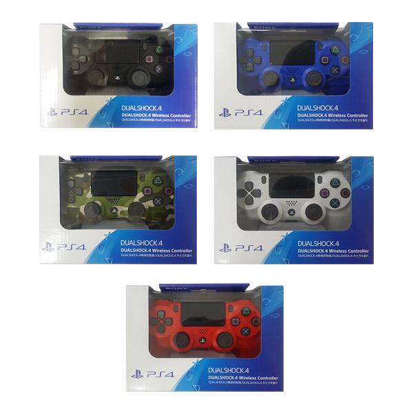 소니 PS4 듀얼쇼크4 무선 컨트롤러 색상선택, 1개, 소니 듀얼쇼크4 컨트롤러(제트 블랙)