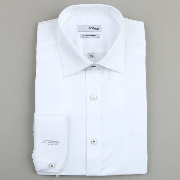 [갤러리아] 듀퐁셔츠19년 F/W 신상품 듀퐁 긴소매소매 풀로고 셔츠(슬림핏) SD9FM22LS751SWH