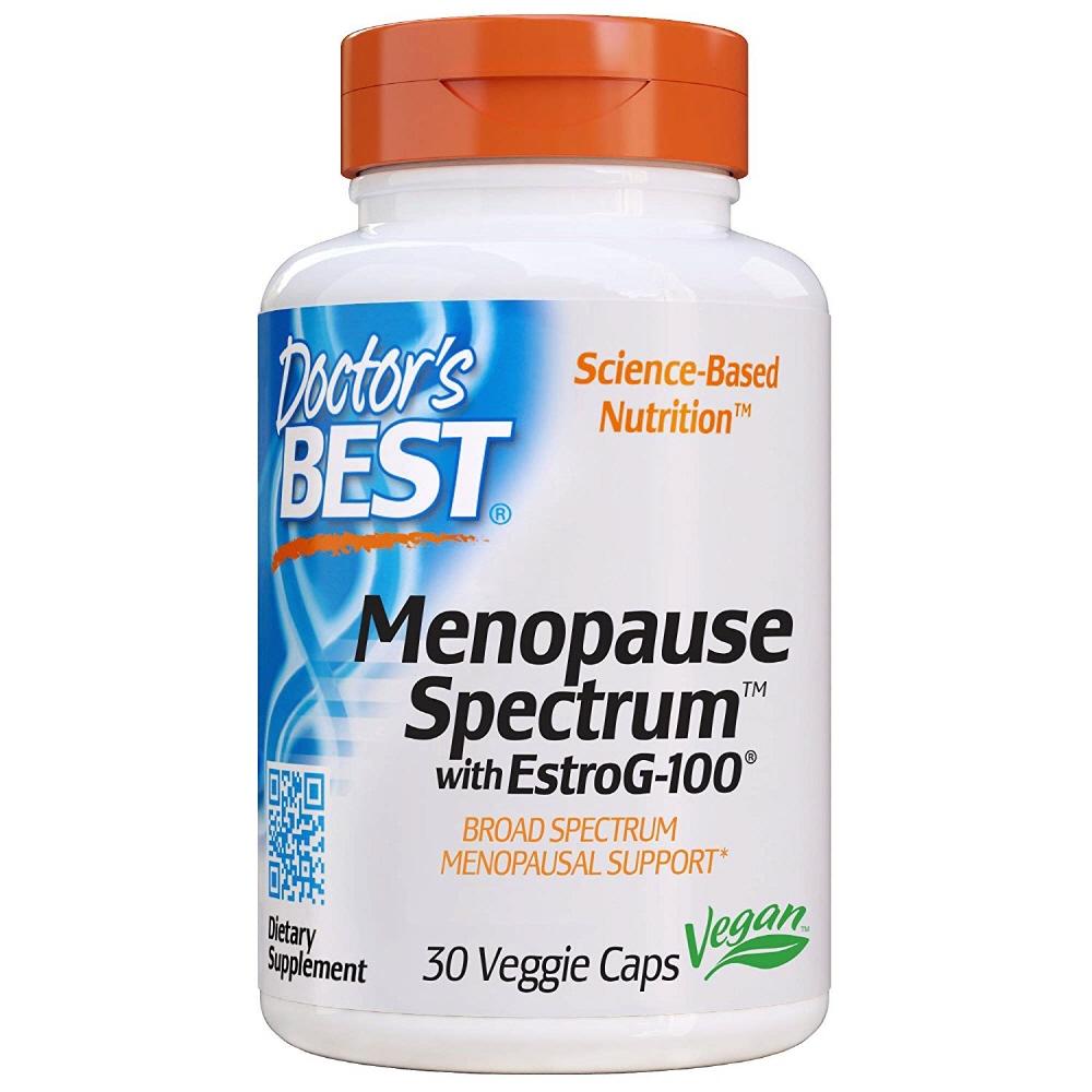 Doctors Best Menopause Spectrum EstroG-100 닥터스 베스트 메노포즈 스펙트럼 에스트로 G-100 30베지캡슐, 1개