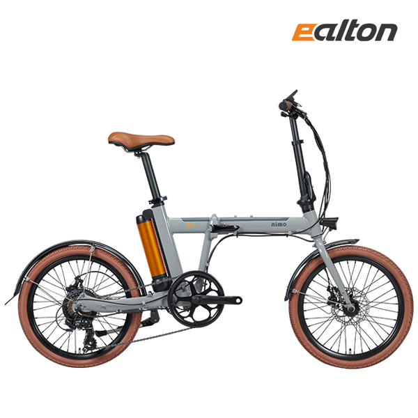 알톤 니모FD 전기자전거 20인치 접이식 350W 모터 2019년, 알톤2019 니모FD(겸용)그레이