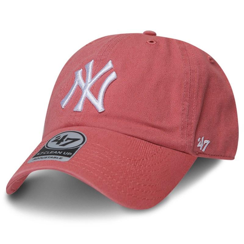 MLB 모자 47브랜드 클린업 뉴욕 양키즈 아일랜드 레드