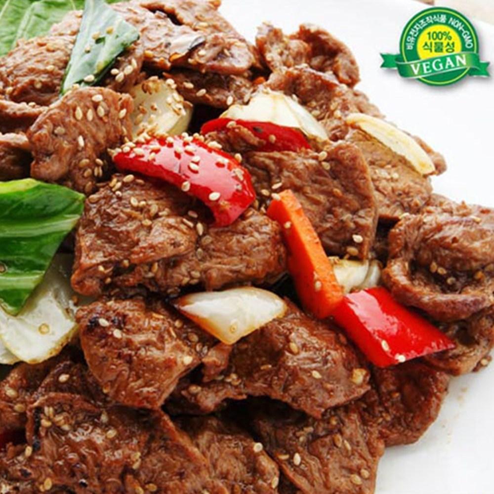 비건 콩불구이(식물성 대체육류 채식식단 반찬 고기 콩볼 레시피 패티 팔라펠 인조 도시락), 2kg