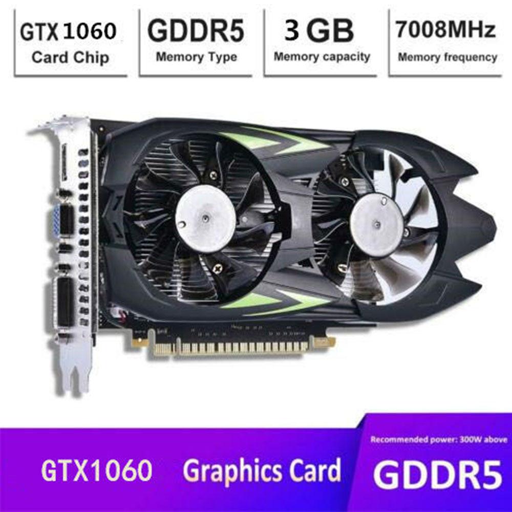 벌크 그래픽 카드 GTX1050i / GTX1060 GDDR5, GTX1050