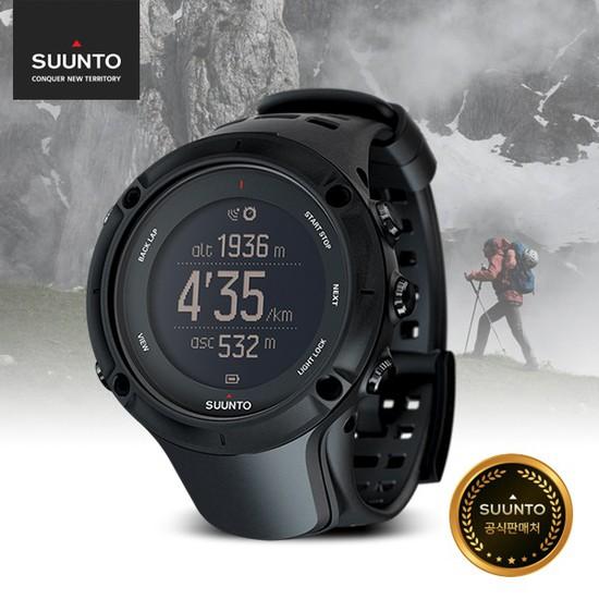 순토 앰빗3 피크 블랙 SS020677000 남성 스포츠 시계