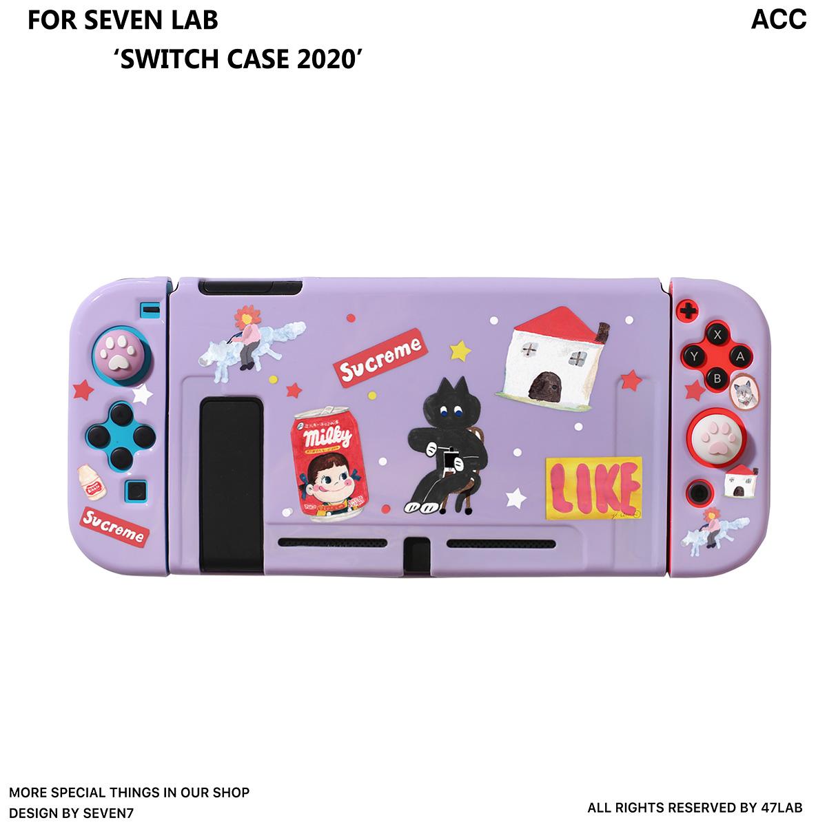닌텐도 스위치 닌텐도 스위치 분할 보호 쉘 쉘 액세서리 매트 NS 실리콘 소프트-20799, 단일옵션, 옵션03