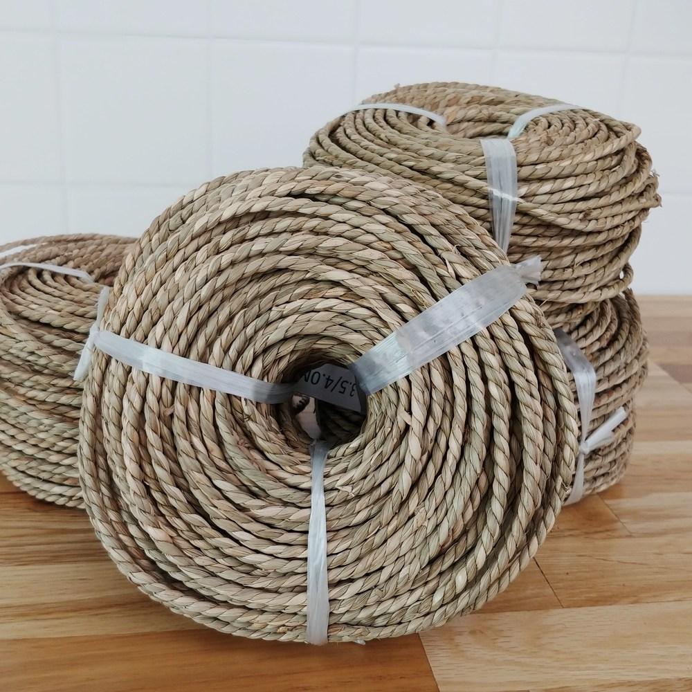 하트앤 해초 라탄재료 바구니 공예 만들기-1묶음