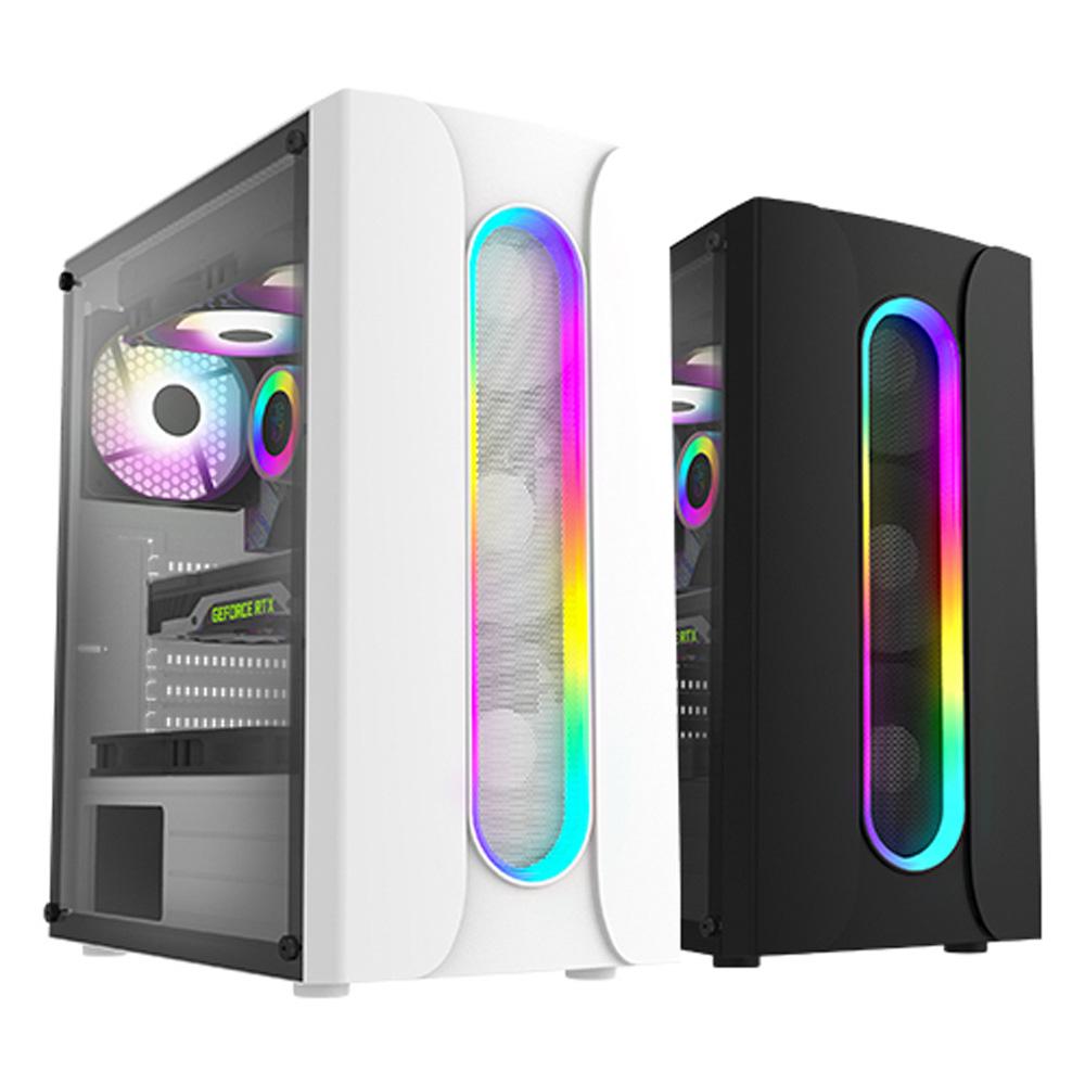 그린홀딩스 게이밍 컴퓨터 조립PC AMD 라이젠5 & 인텔 i5 GTX RTX SSD장착 윈도우10 배틀그라운드 로스트아크 오버워치 피파 롤 게임용 사무용 가정용 데스크탑 본체, 01_R5_M340W_R5 3400G+내장그래픽