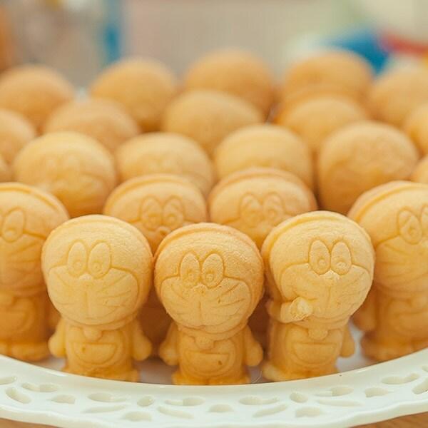 [신세계TV쇼핑][신세계TV쇼핑] 도라에몽 달콤슈크림만쥬 130g x 5봉, 단일상품, 단일상품