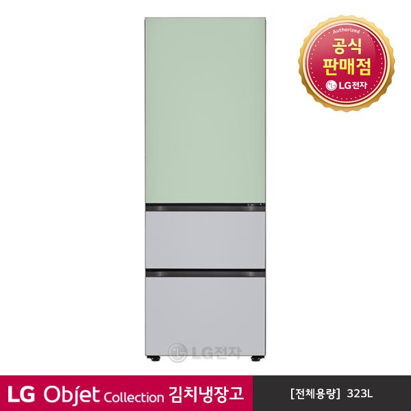 LG전자 오브제컬렉션 김치냉장고 스탠드형 Z330GMS151