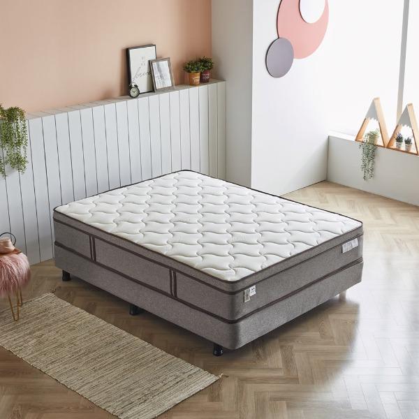 바르다 까레 투탑매트리스 단단한 독립스프링 하드타입 라텍스 탄탄한 호텔식 침대