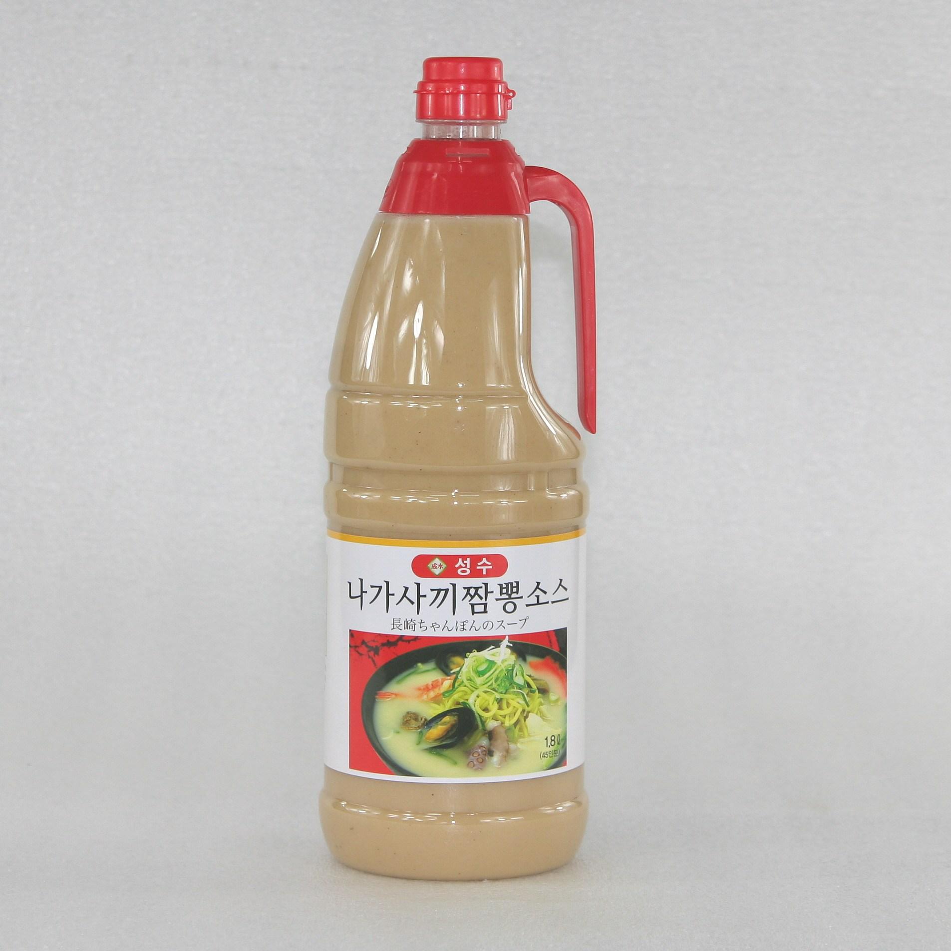 성수 나가사끼짬뽕 소스, 1개, 1800ml