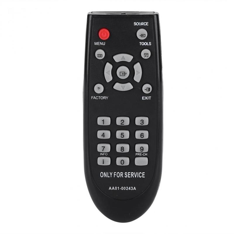 AA81-00243A 삼성 TV 용 교체 리모컨 스마트 리모컨 (POP 5685328301)