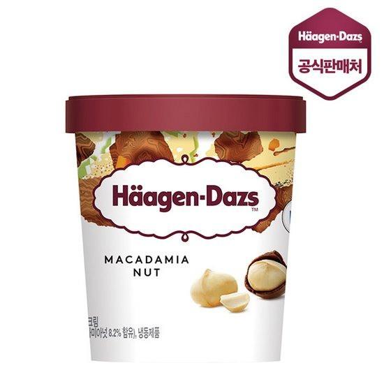 하겐다즈 파인트 마카다미아넛 컵 아이스크림, 473ml, 1개