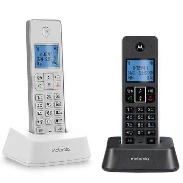 모토로라 디지털 무무선 전화기 IT.5.1XA+IT.5.1XAH, IT.5.1XA-DUAL BW