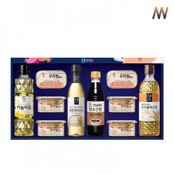 2020 추석 명절 선물세트 청정원 8호 햄 식용유, 단품