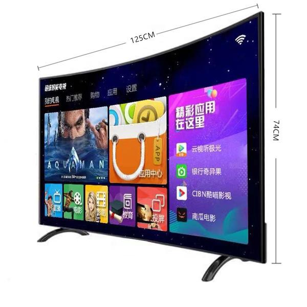 태블릿 액정 TV55inch32선명한 4K60네트워크 65스마트 wifi곡면 50OLED75가정용 43테블릿피시, 표면 방폭형 65 인치 4K 온라인 버전