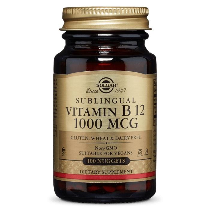 솔가 비타민 B12 1000mcg 너겟, 100개입, 1개