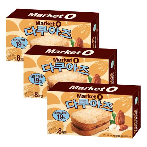 오리온 마켓 오 다쿠아즈, 176g, 3박스