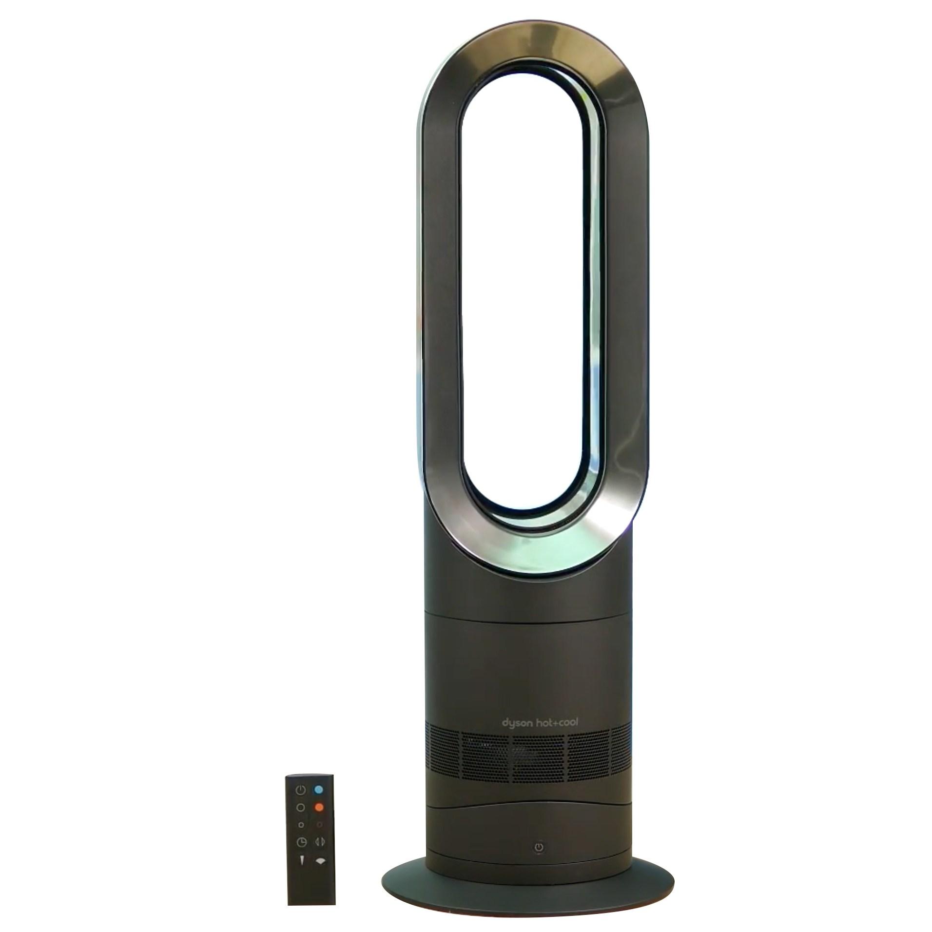 다이슨 제트 포커스 팬 히터 온풍+냉풍, Black + Nickel, AM09