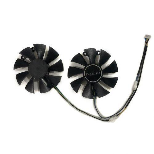 [해외] 수리공 2 GTX1060 GPU 그래픽 쿨러 VGA 팬 갤럭시 GEFORCE GTX 1060 빅 타이거 일반용 비디오 카드 냉각, 상세내용표시