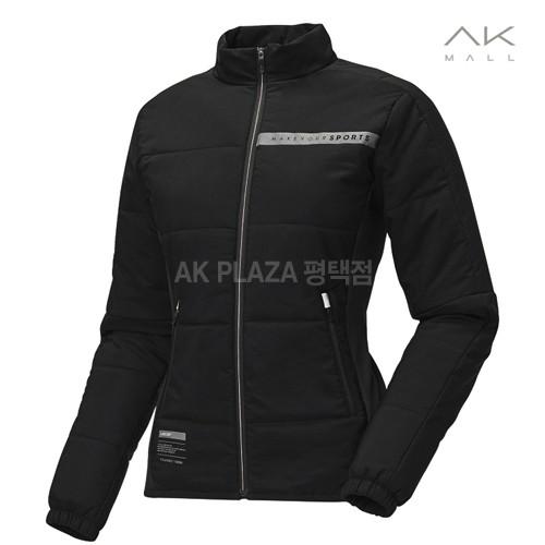 [르까프] 여성 우븐 패딩 자켓 1217 FW454 블랙
