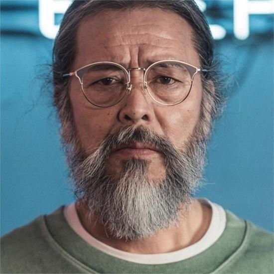 [하프클럽/블루엘리펀트]JUN grey 안경 반뿔테 안경태 초경량..