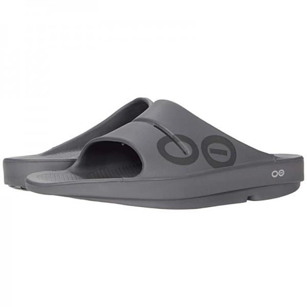 [미국정품] 362906 우포스 남성 슬리퍼 OOFOS OOahh Sport Sandal - Slate