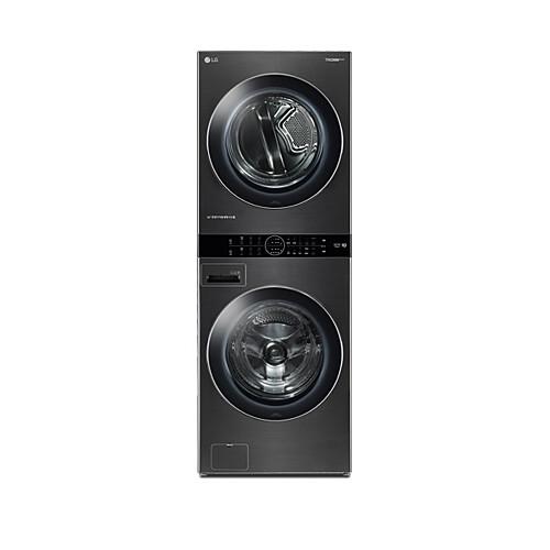 LG전자 W16KT 트롬 워시타워 원바디세탁건조기 스페이스 블랙, 세탁기/세탁기