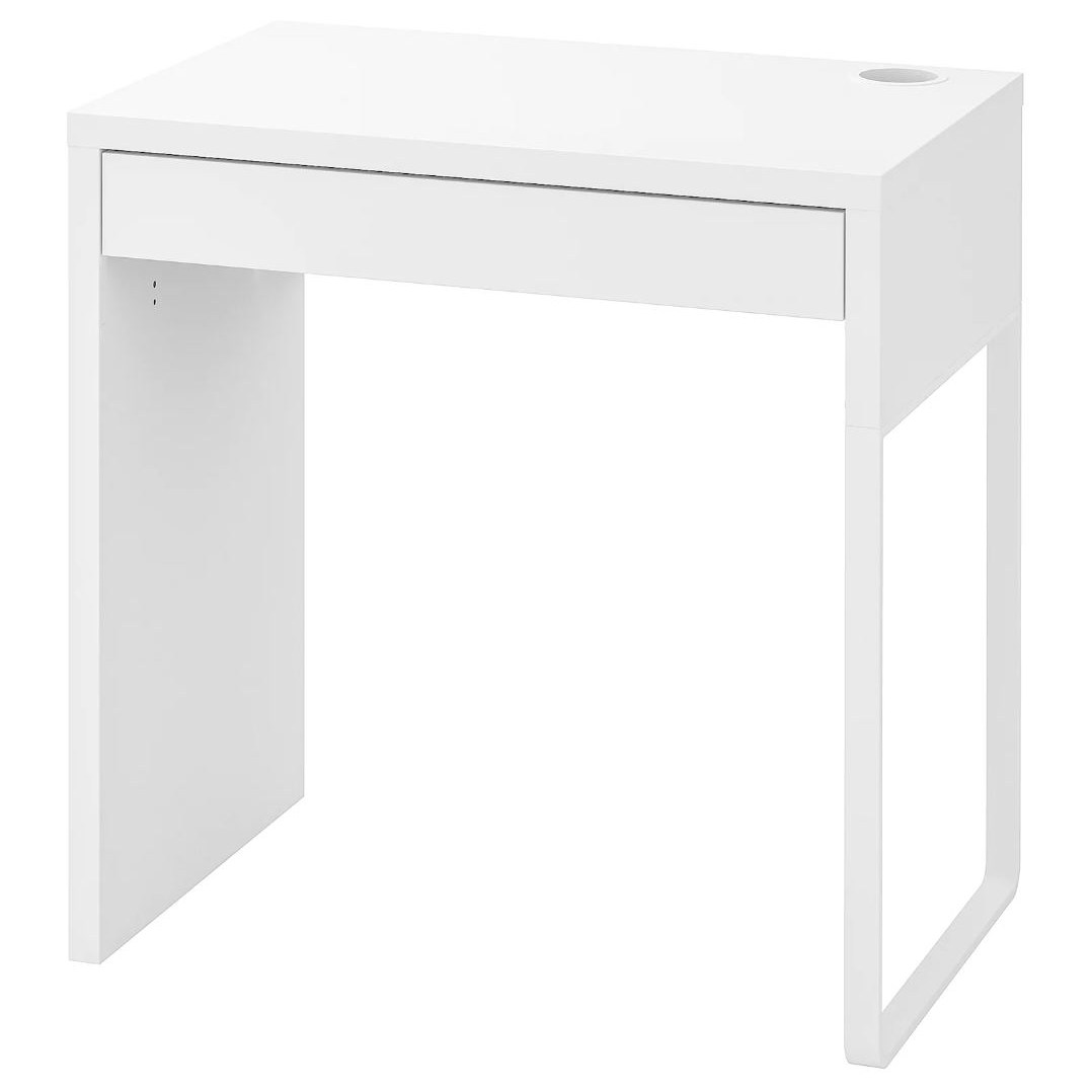 [withIKEA]이케아 책상 MICKE 미케 화이트 73x50 cm, 홈 퍼니싱 핸드북 제공