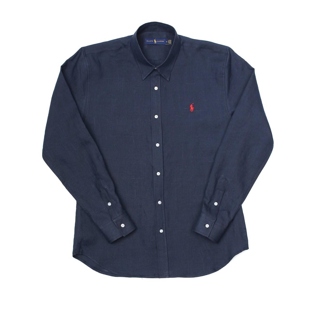 그로즈 남여공용 폴로 린넨 셔츠 (2color)